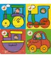 Les Moyens de Transport (4 livres pour tout petits)